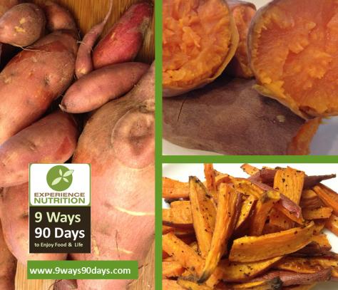 9 Ways 90 Days Baked Organic Sweet Potatoes