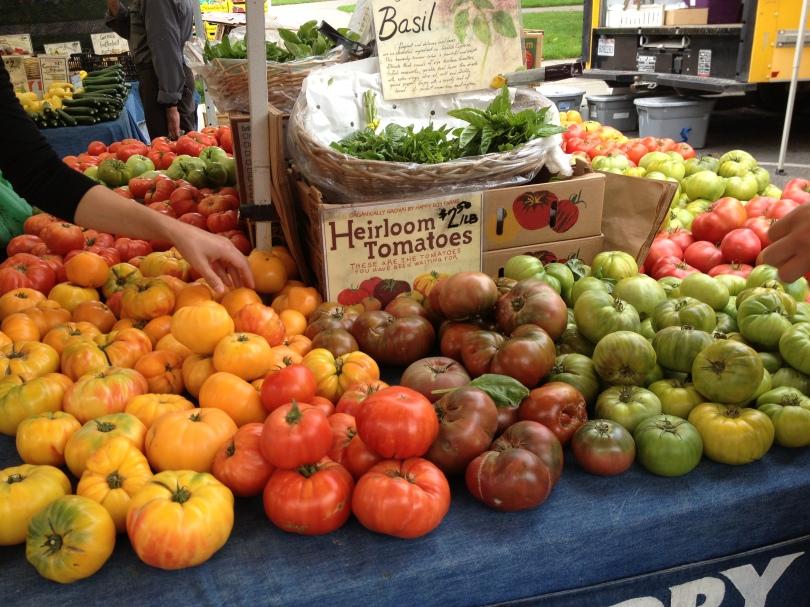 9 Ways 90 Days: Farmers' Market Berkeley, CA
