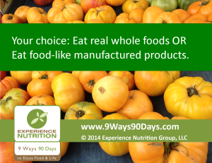Eat Real Whole Foods