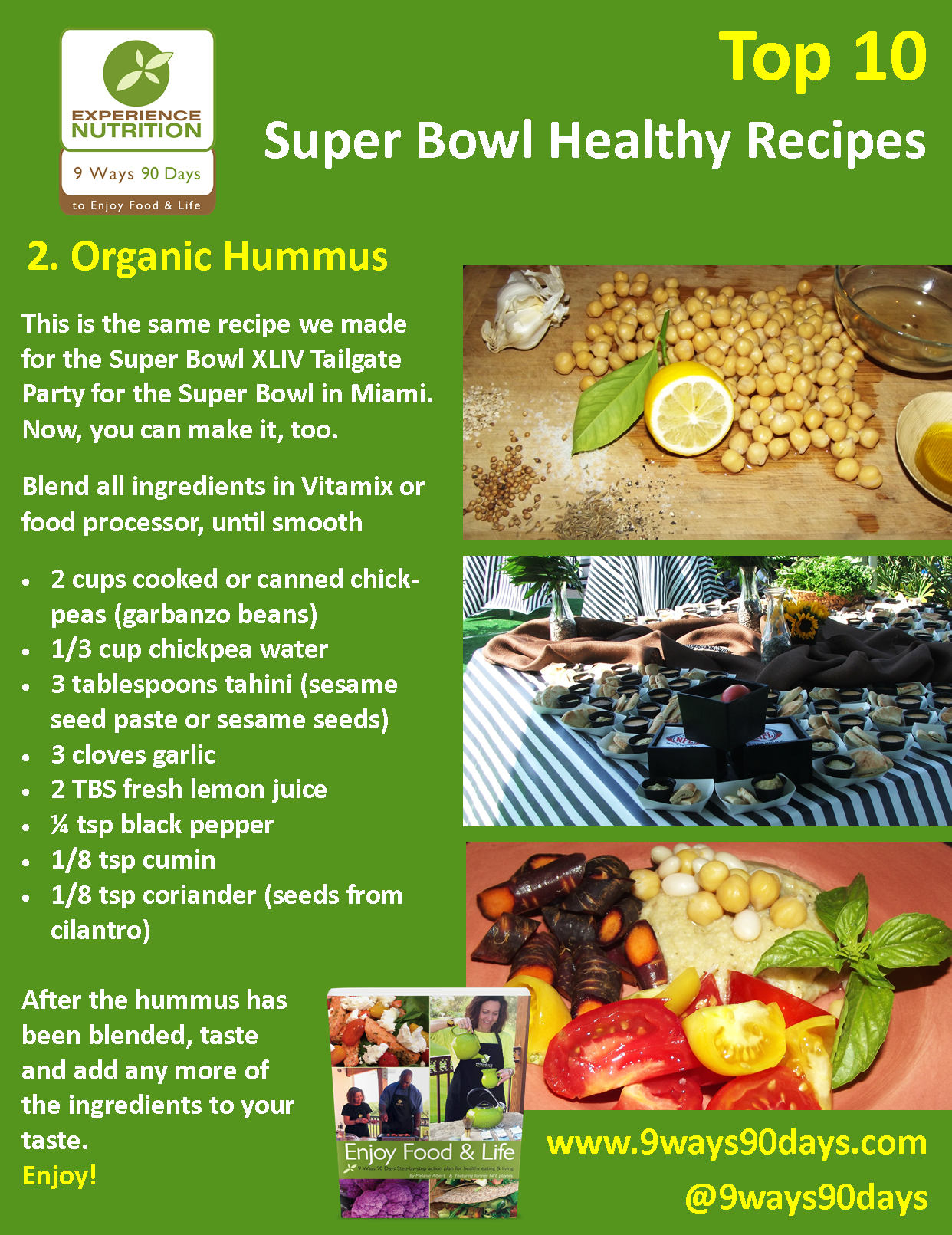 Experience nutrition 9 ways 90 days top 10 super bowl healthy experience nutrition 9 ways 90 days top 10 super bowl healthy recipes 2 forumfinder Choice Image