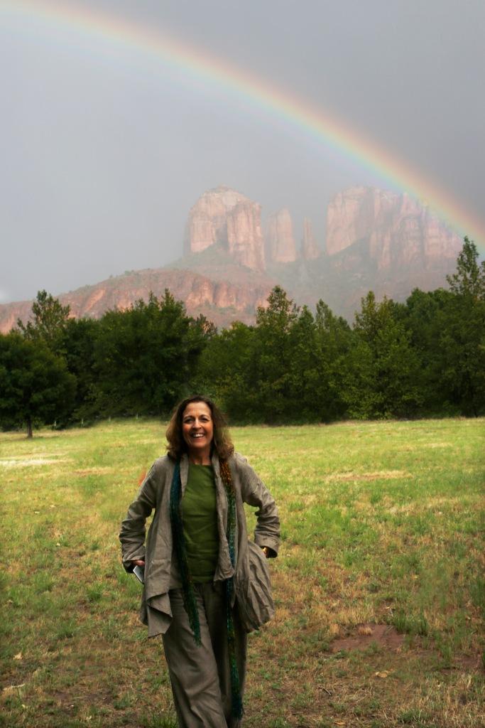 Enjoying the Rainbow in Sedona