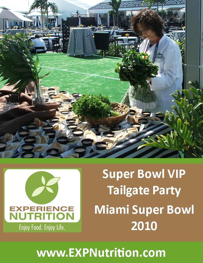 Melanie Albert at Super Bowl VIP Tailgate, Super Bowl 2008 in Miami.