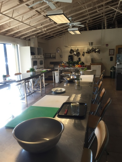 The Southwest Institute of Healing Arts kitchen is set