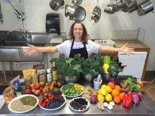 Melanie Albert & Farmers Market Goodies