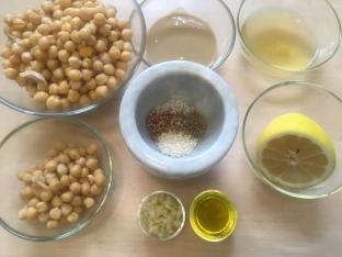 Hummus: Mise en place