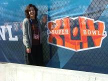 Melanie Albert Super Bowl XLIV